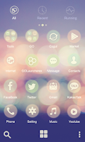 Screenshot of Sentimental GO Launcher Theme