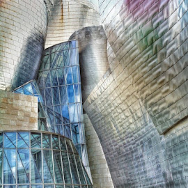 Guggenheim museum of Bilbao by Marco Poli - Buildings & Architecture Public & Historical