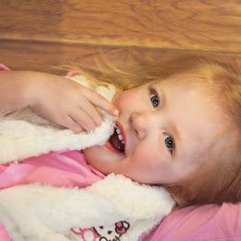 laying around by Barb Hanson - Babies & Children Children Candids
