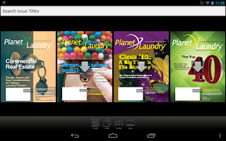 Screenshot of PlanetLaundry: Powered by CLA
