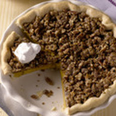Michele Albano's Maple Pumpkin Pie with Pecan Streusel