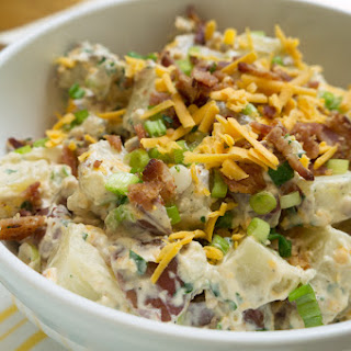 Bacon Cheddar Potato Salad