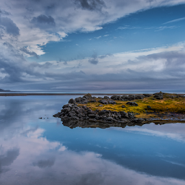 Silent world by Susan Block - Landscapes Cloud Formations ( clouds, seascape )