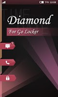 Screenshot of GO Locker Diamond Theme