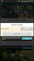 Screenshot of Call and SMS Tracker - Remote
