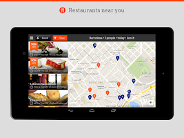 Screenshot of Restalo. Restaurant Bookings