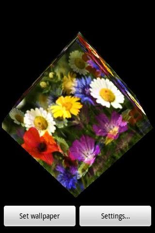 3D 꽃 67