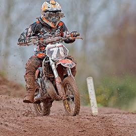 motocoss by Gavin Pardoe - Sports & Fitness Motorsports ( motorbike motocross mx scambler )