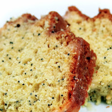 Slow Cooker Lemon-Poppy Seed Bread