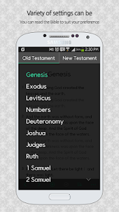 Bible Only(Living Translation) - screenshot