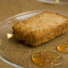Lemon Ginger Risotto Panko Cakes Recipe