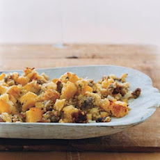 Polenta and Sausage Stuffing