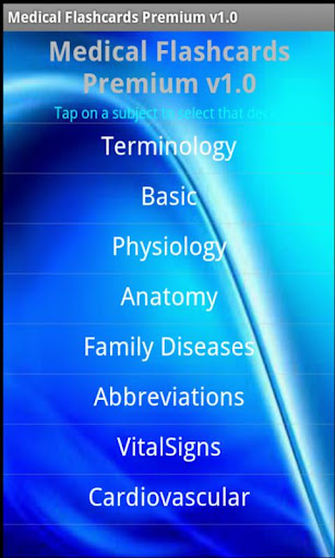 Medical Flashcards Premium