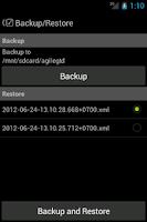 Screenshot of Agile GTD