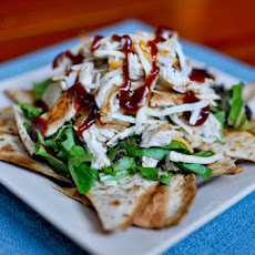 BBQ Chicken Nacho Salad