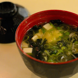 Miso Soup by Rudyanto A. Wibisono - Food & Drink Plated Food ( miso_soup )