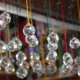 Hanging Diamonds! by Muthumeena Sudalaimuthu - City,  Street & Park  Markets & Shops ( vertical lines, pwc )