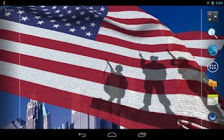Screenshot of USA Eagle Live Wallpaper Free