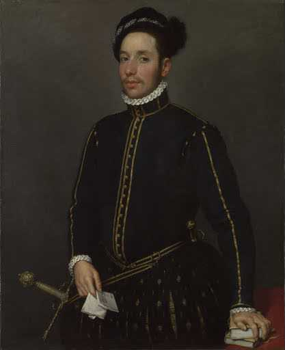 Moroni Giovan Battista, Il gentil cavaliere