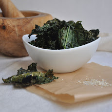 Sesame Salt Kale Chips