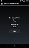 Screenshot of ExDialer Shortcut Plugin