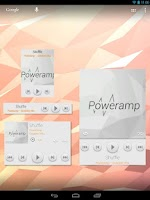 Screenshot of Poweramp Widgets Kit