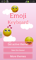 Screenshot of Emoji Keyboard Free