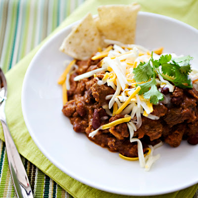 Nigella's Chocolate Chip Chili