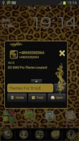Screenshot of GO SMS Pro Theme Leopard