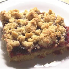 Peanut Butter 'N' Jelly Bars