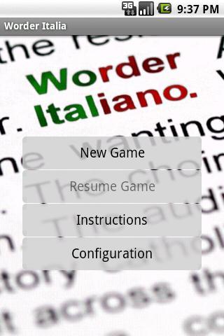 Worder Italiano