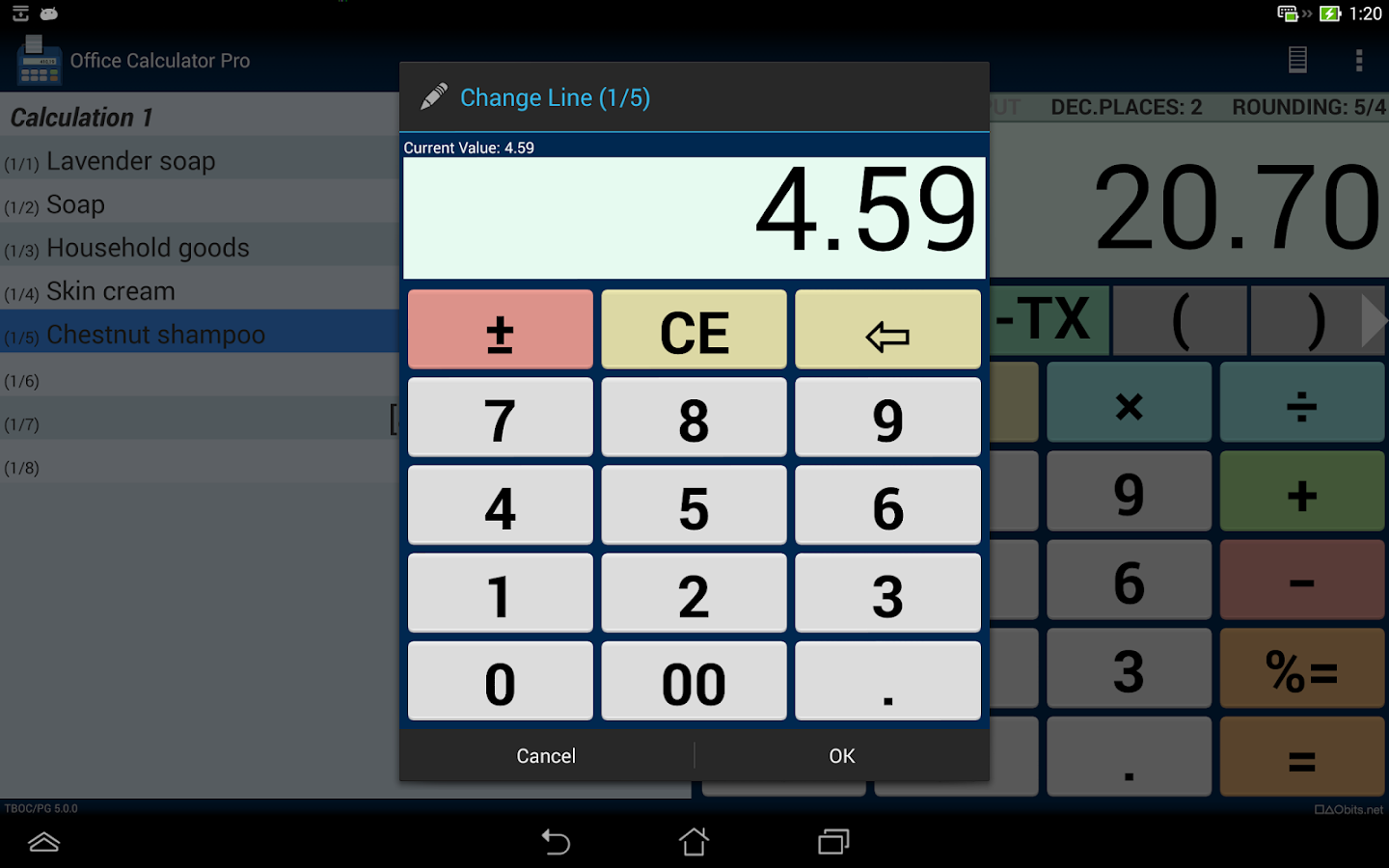 Office Calculator Pro Screenshot 8