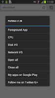 Screenshot of PerfMon - Performance Monitor