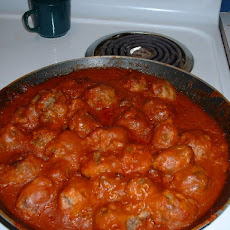 Meatballs In Red Wine Gravy