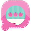 Easy SMS Pink Garden Theme icon