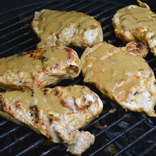 Grilled Maple Mustard Chicken Breasts