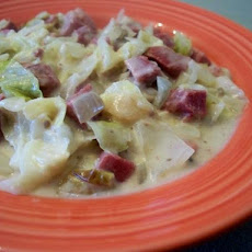 Corned Beef and Cabbage Casserole