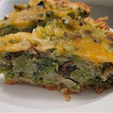 Broccoli Cheese Pie