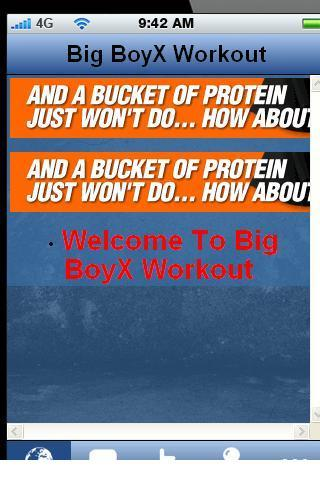 Big BoyX Workouts