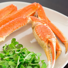 Sake Steamed Crab Legs