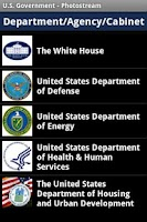 Screenshot of U.S Government - Photostream