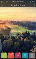 Screenshot of Country Sunrise Theme