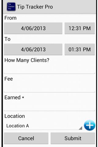 Tip Tracker Pro (No ad) - screenshot