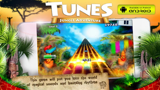 【免費街機App】Tunes Jungle Adventure-APP點子