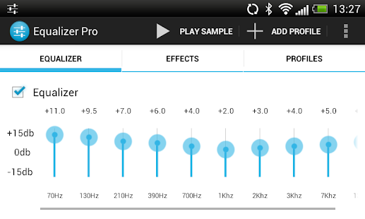 Equalizer Pro (Free)- screenshot thumbnail