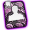 GO CONTACTS - Purple Paisley icon