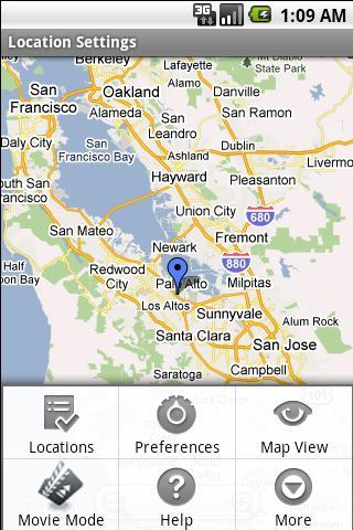 Location Settings-Trial