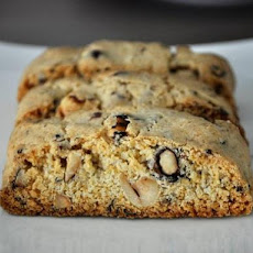 Hazelnut Black Pepper Biscotti