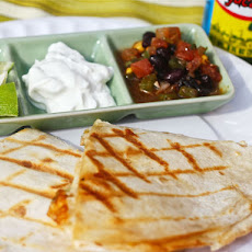 Crispy Pepper Jack Quesadillas