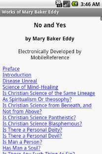 Works of Mary Baker Eddy - screenshot